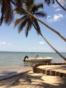 Destination Mussolo en bateau