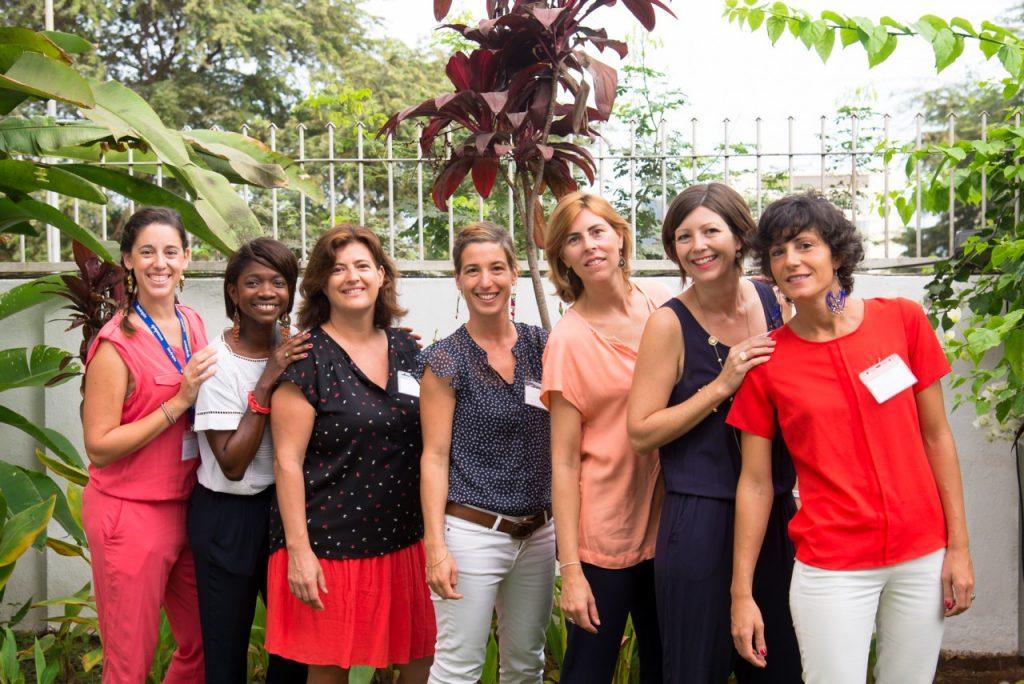 L'équipe de Vivre en Angola
