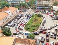 Embouteillages dans Luanda