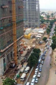 Embouteillages de Luanda
