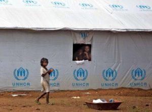 Camp de refugies angolais quittant la rdc pour revenir en Angola