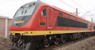 Train en Angola