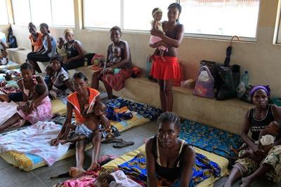 Centre de nutrition du quartier Samba de Luanda marcx-roussel