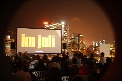 Cinema no telhado