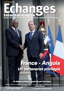 Magazine Echanges Internationaux Angola