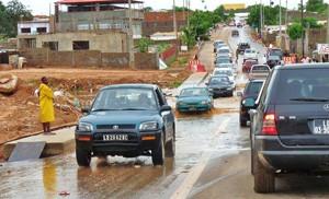 Inondation suite aux fortes pluies