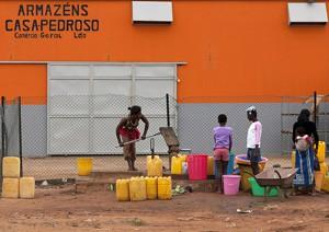 La majorité des Angolais n'a pas d'accès à l'eau potable