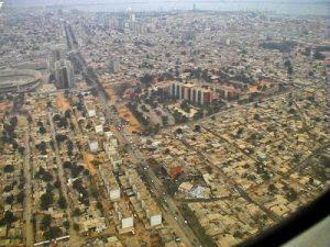 Luanda vue aérienne