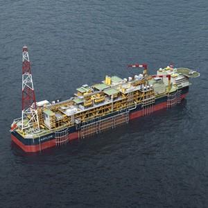 Plateforme pétrolière flottante