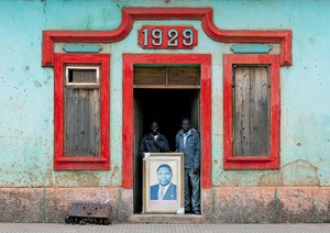 Siège de l'Unita à Huambo