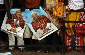 Visite du pape Benoit XVI à Luanda
