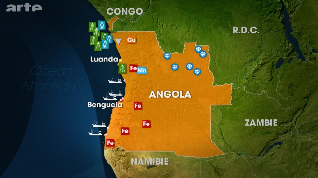 Ressources naturelles d'Angola