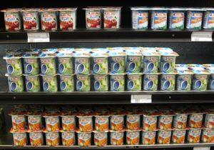 Les yaourts sont le plus souvent pasteurisés