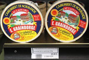 Camembert Français à 25$!