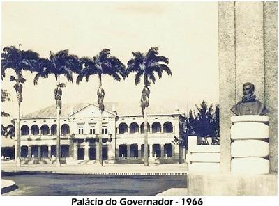 Palais du gouverneur en 1966
