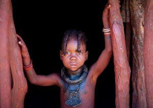 Petite fille himba