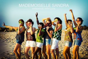 Mademoiselle Sandra made with love!