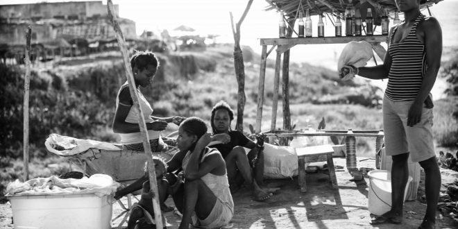 Zungeiras en bord de route - Ivan Cafe Lopes