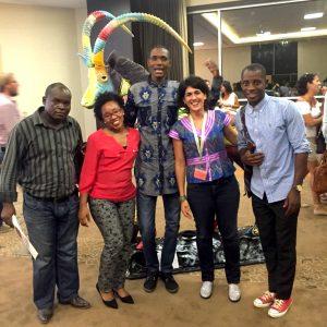 Equipe du Samusocial en Angola