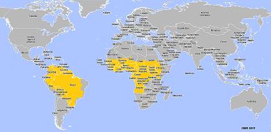 zones endemiques