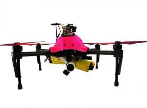 Helper, un drone pour surveiller les plateformes pétrolières