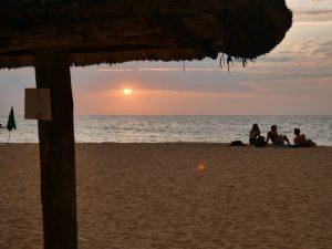 coucher soleil lobito