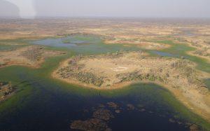 vue aerienne delta