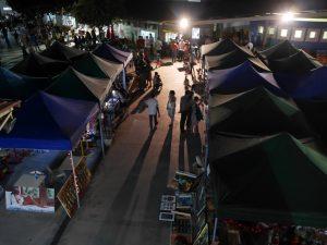 marché nuit