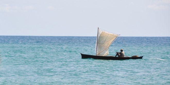Pêcheur à SaoTomé