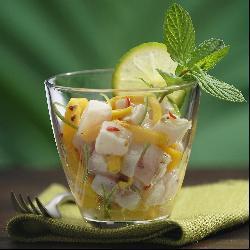tartare mangue