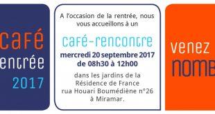 Café de la Rentrée 2017 Vivre en Angola