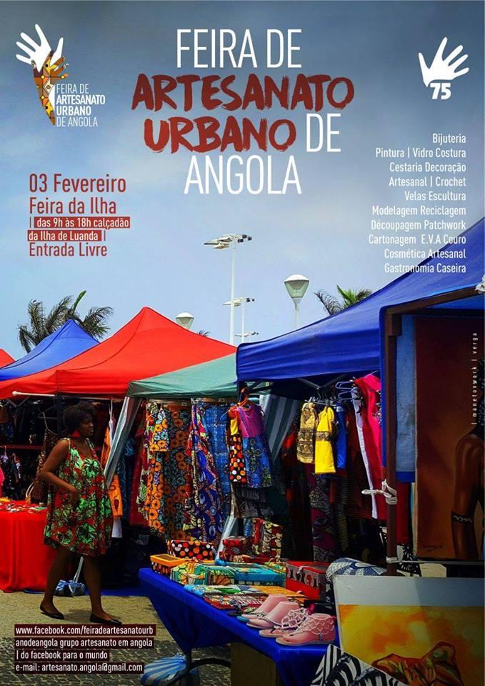 Feira de artesanato urbano de Angola Vivre en Angola