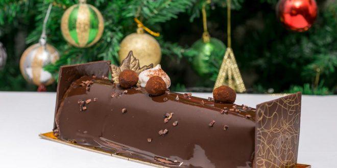 La grande bûche chocolat