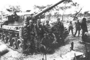 Bataillon cubain à Cuito Canavale