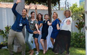 L'équipe de Vivre en Angola 2019